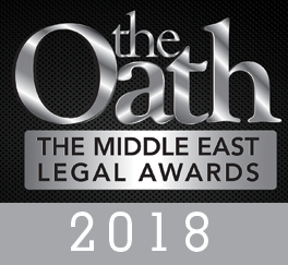 Al Jallaf Advocates is a finalist for the The Oath Middle East Legal Awards